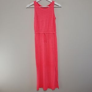 Old Navy Girl's Dress Neon Maxi Size Large 10-12